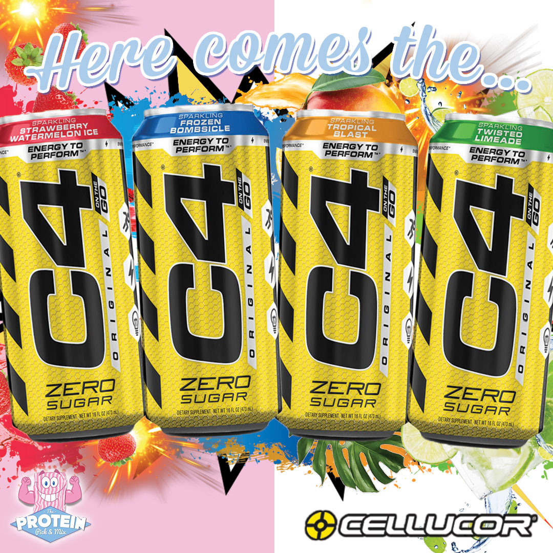 Cellucor C4 Zero Sugar Energy Drink The Protein Pick And Mix Uk