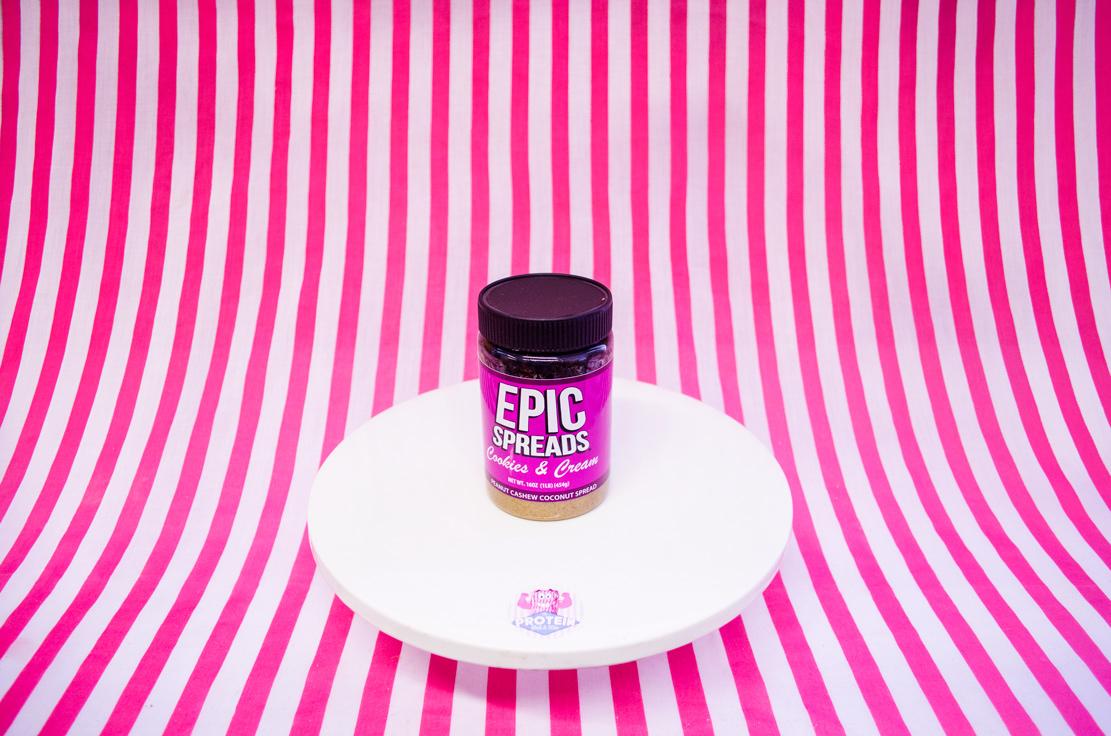 Epic Spreads Peanut Cashew & Coconut Spread - Cookies & Cream